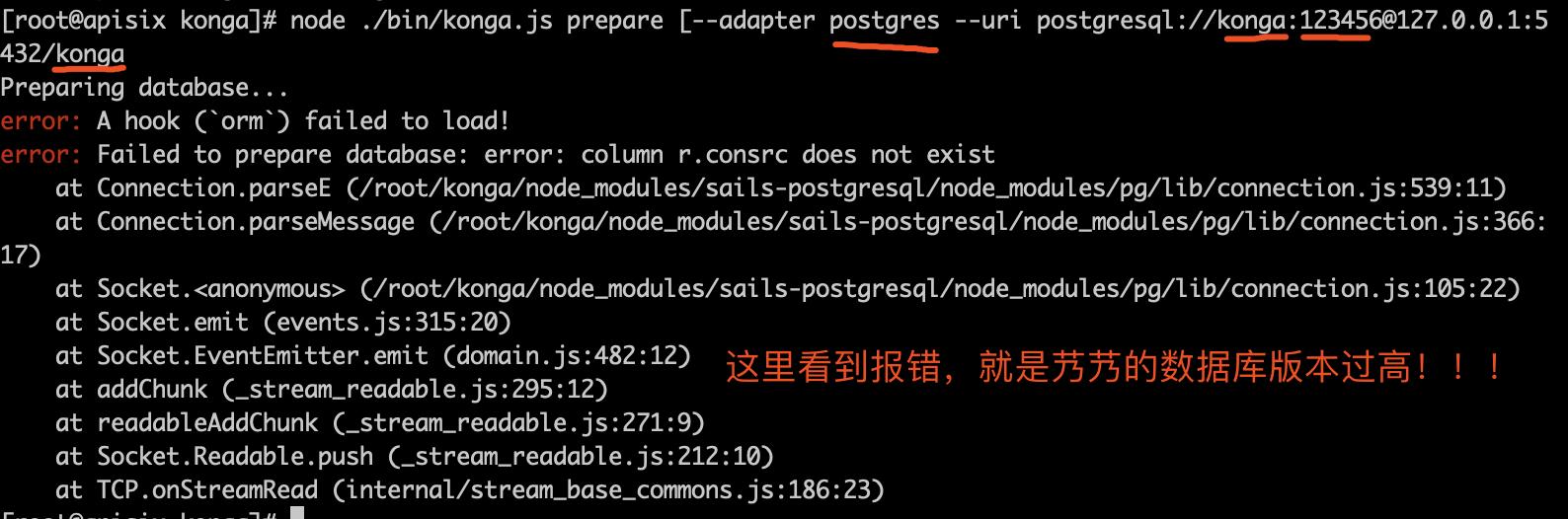 初始化 PostgreSQL 数据库