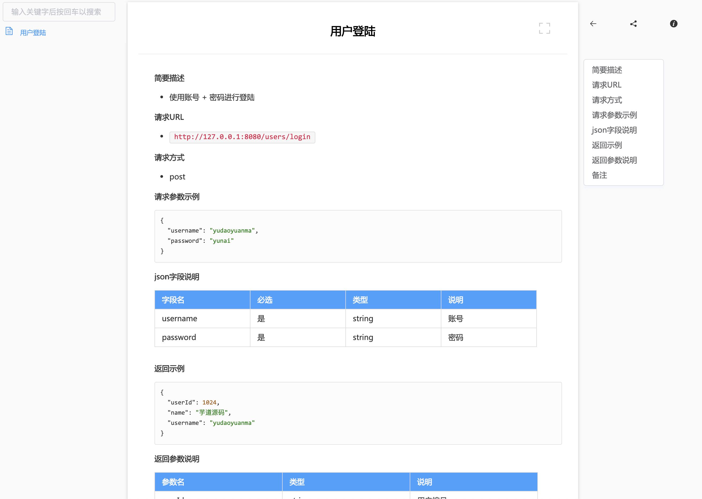 RunAPI 文档预览