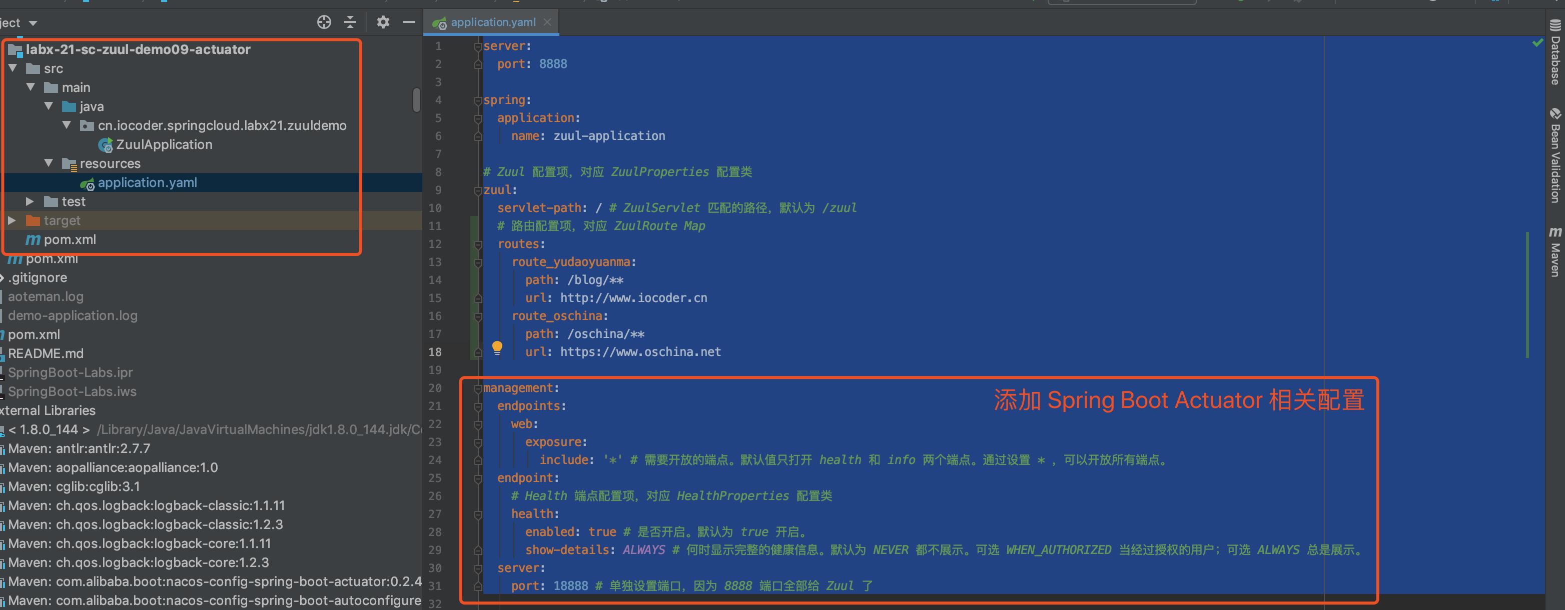 `labx-08-sc-gateway-demo09-actuator` 项目