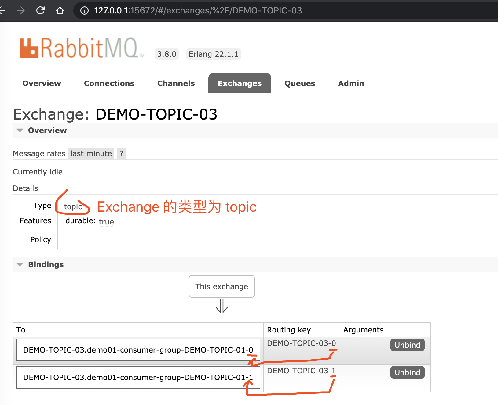 `DEMO-TOPIC-03` Exchange